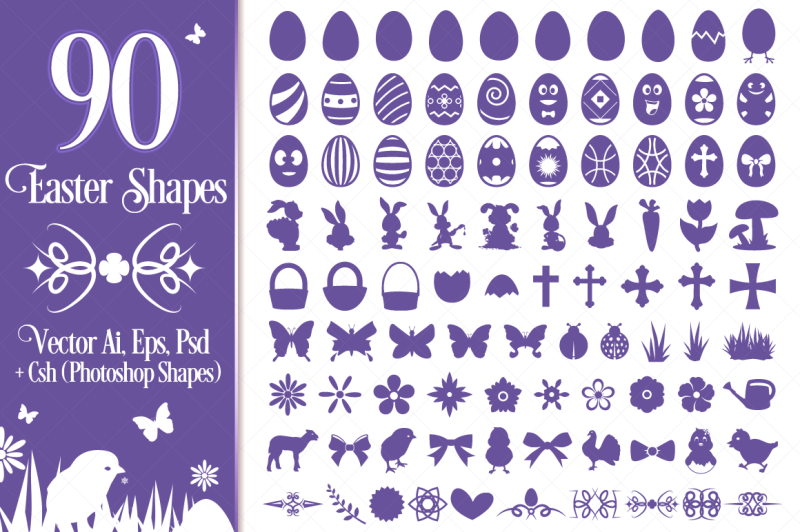 90-easter-vector-shapes