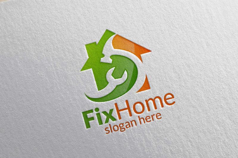 real-estate-logo-fix-home-logo