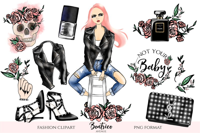 bad-gal-fashion-clipart