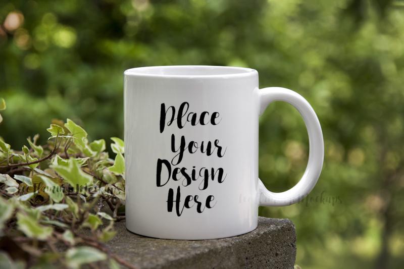 Free PSD Coffee mug mockup bokeh, mug mock up, cup mock ups (PSD Mockups)