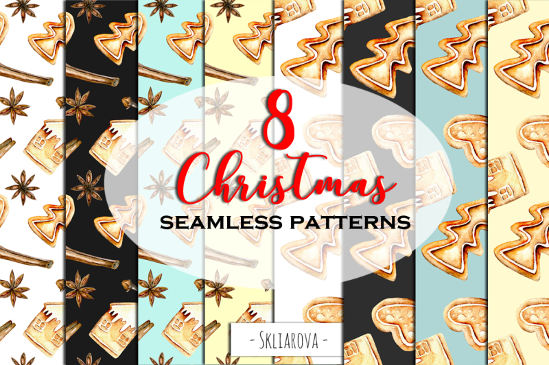 christmas-gingerbread-8-patterns