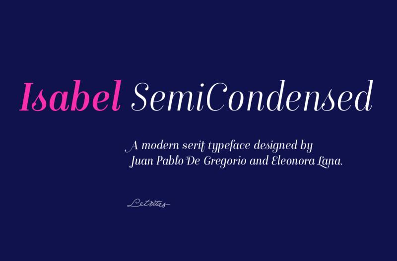 isabel-semicondensed