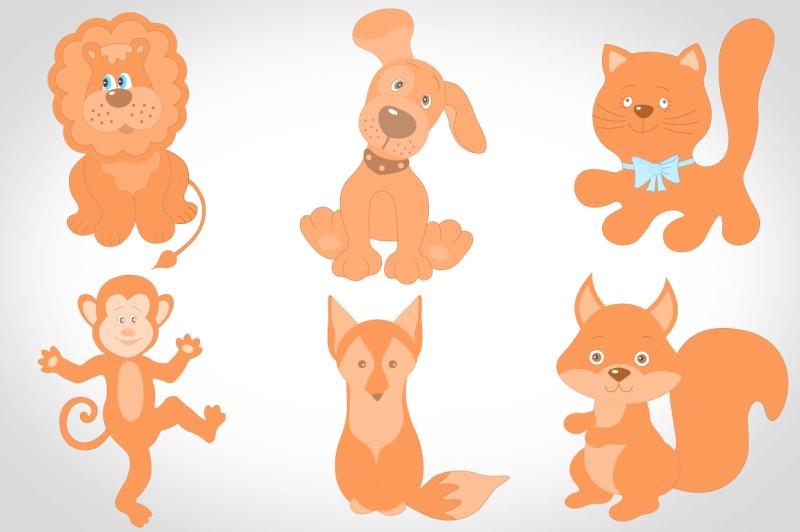 cute-animals-vector-set