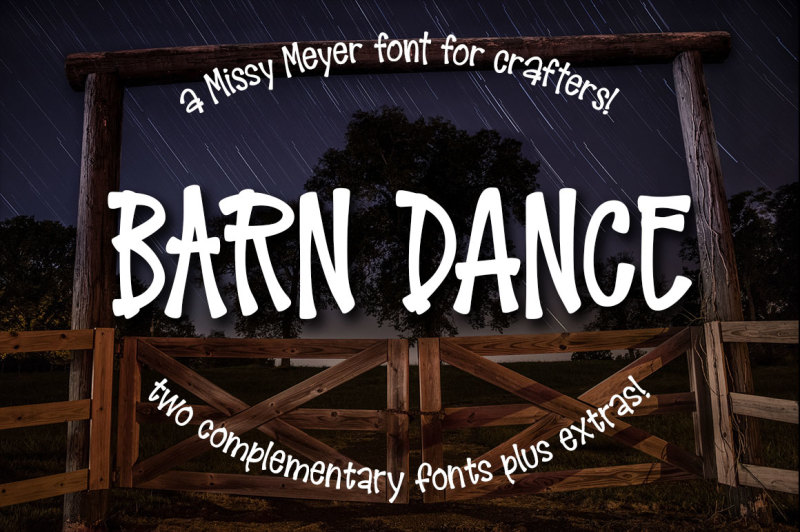 barn-dance-a-homey-little-font