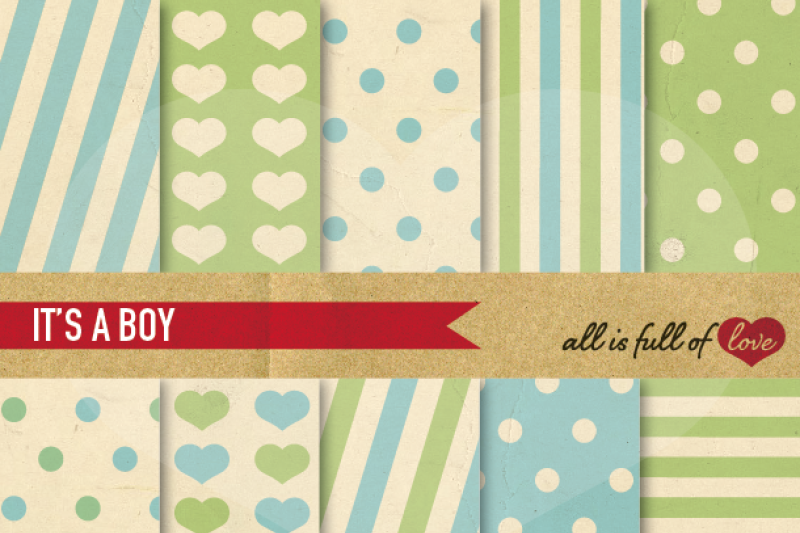 vintage-backgrounds-in-green-and-blue-love-collection