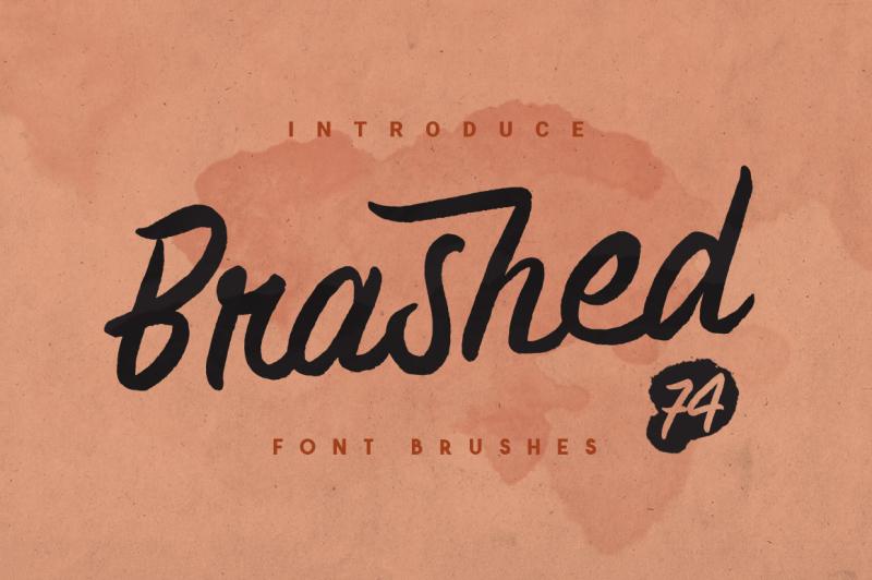 brashed-typeface