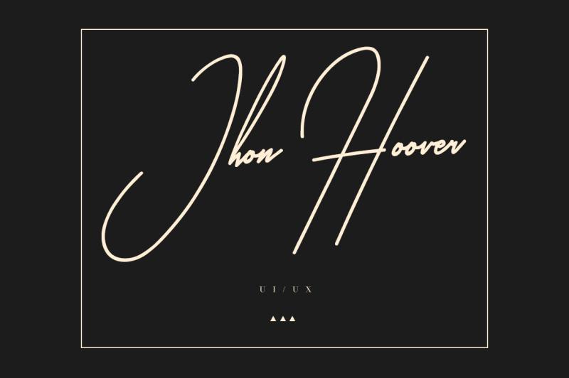 gladise-signature-font