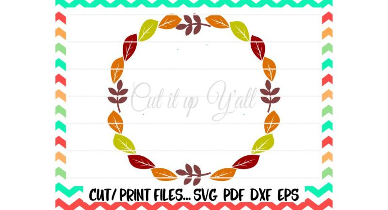 fall-leaves-circle-svg-autumn-leaves-autumn-wreath-print-and-cut-files-printable-pdf-silhouette-cameo-cricut-instant-download