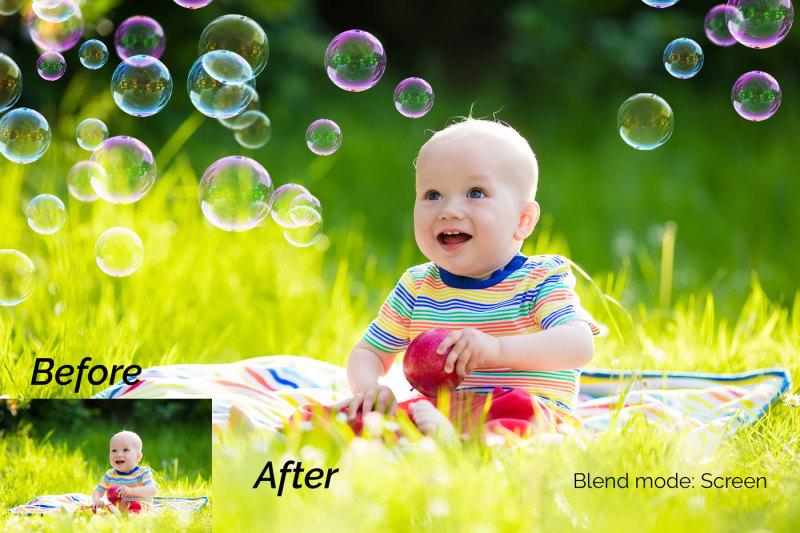 12-soap-bubbles-photo-overlays