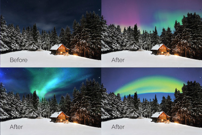33-aurora-borealis-photo-overlays