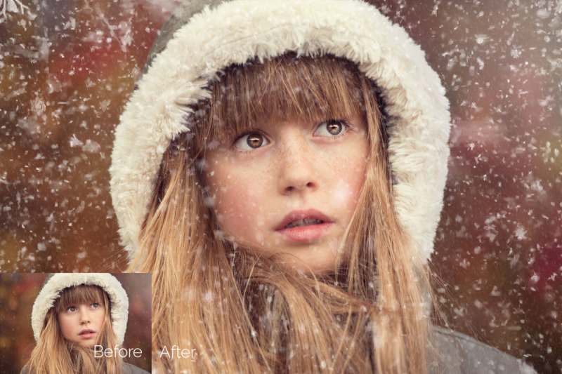 50-falling-snow-photo-overlays
