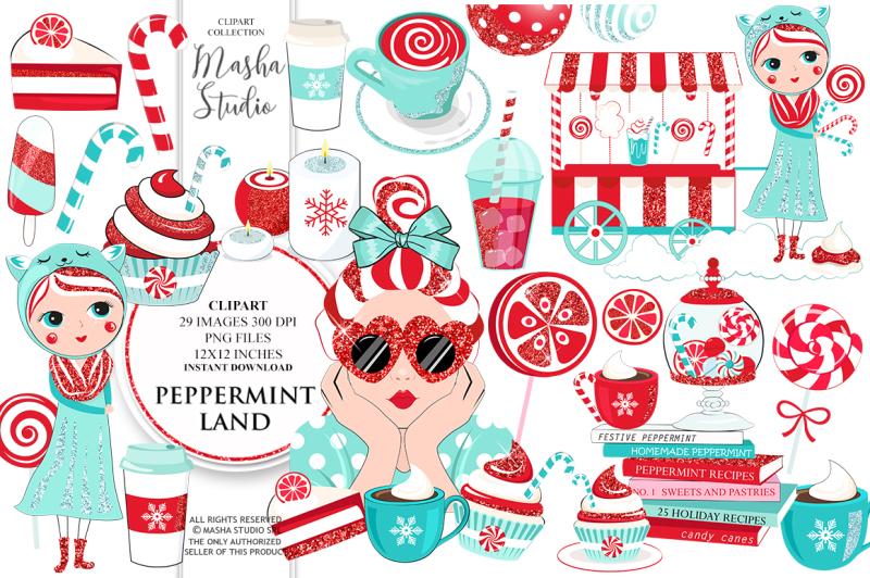 peppermint-land-clipart