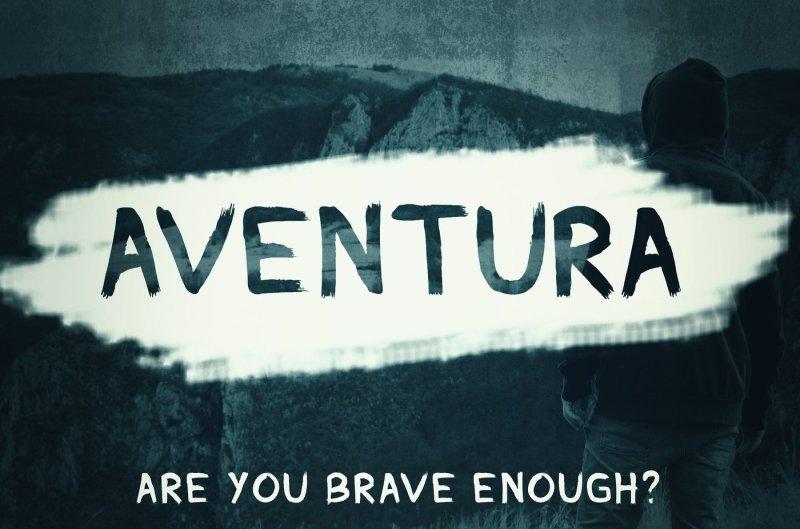 aventura-handmade-font