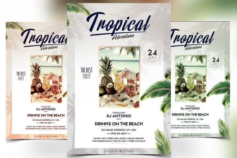 tropical-adventure-psd-flyer-template