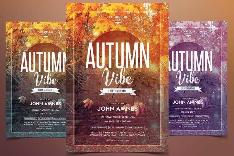 autumn-vibe-festival-psd-flyer