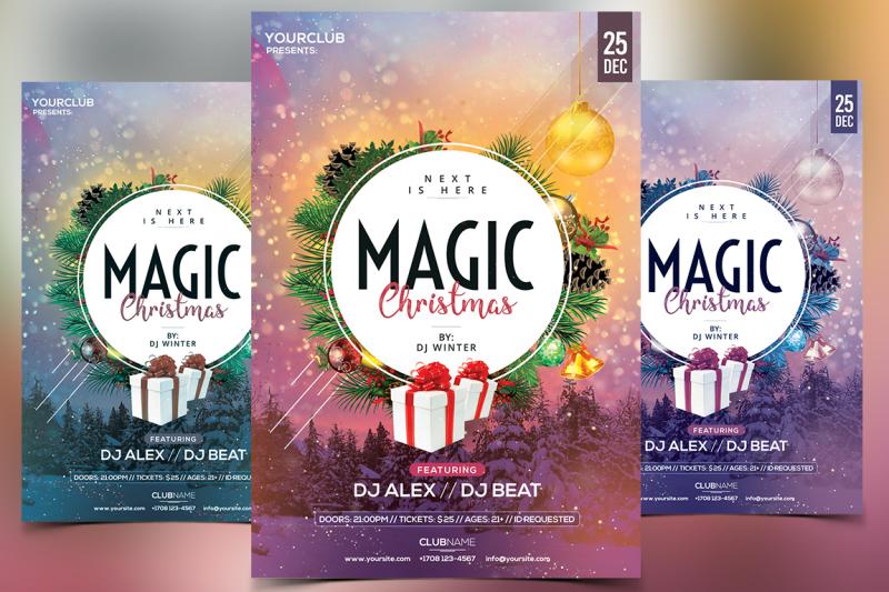 magic-christmas-2017-psd-flyer-template