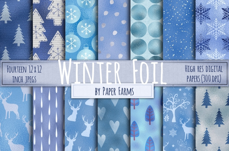 winter-foil-backgrounds