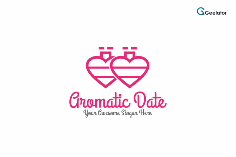 aromatic-date-logo-template