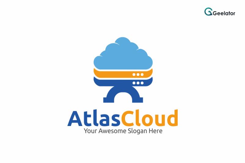 atlas-cloud-logo-template