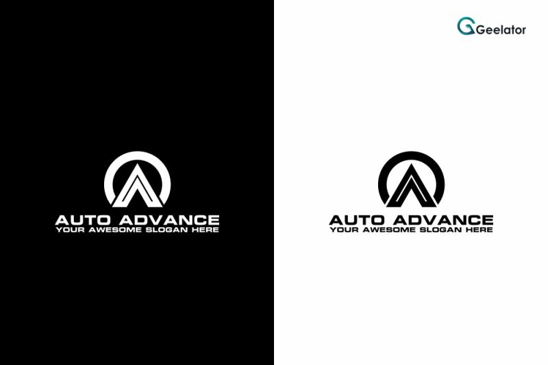 auto-advance-logo-template