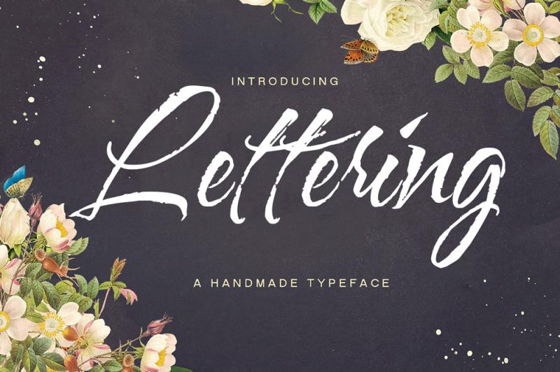 lettering-script-font