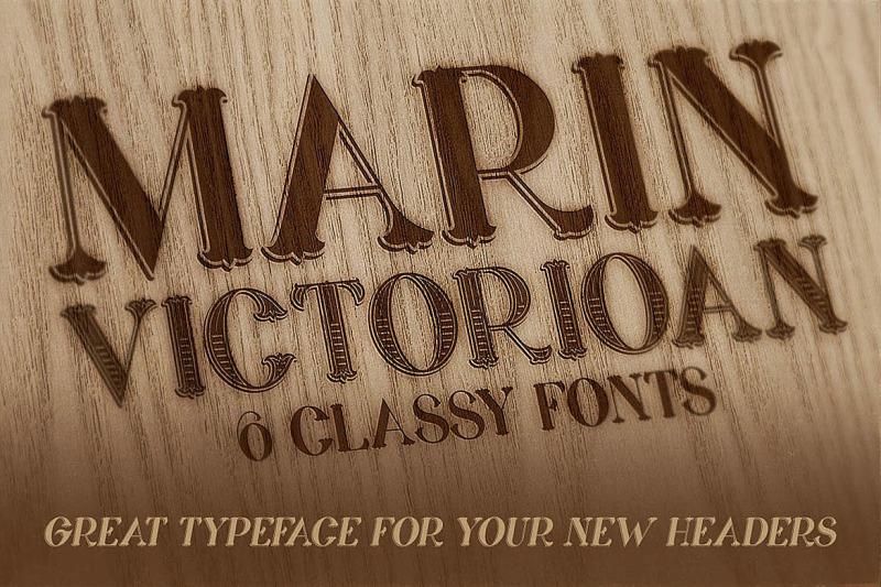 marin-victorian-font