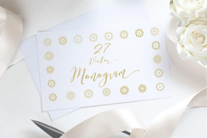 27-vector-logo-monogram-kit-bundle