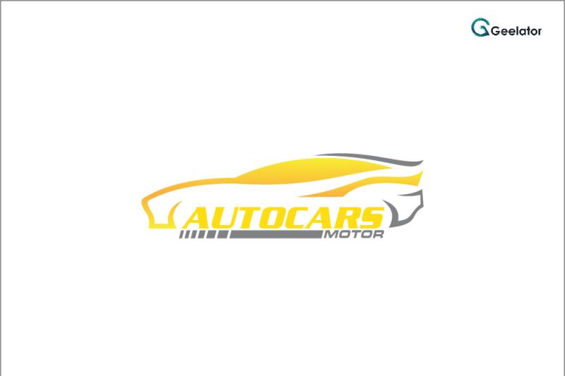 autocars-motor-logo-template