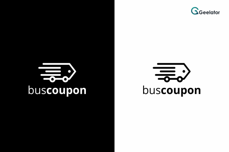 bus-coupon-logo-template