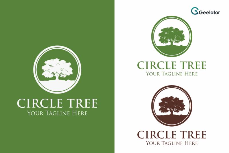 circle-tree-logo-template