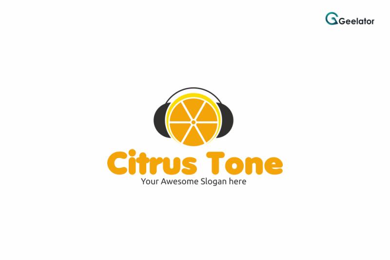 citrus-tone-logo-template