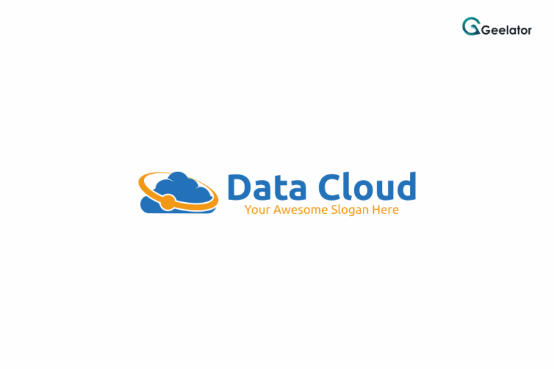 data-cloud-logo-template