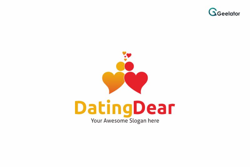 dating-dear-logo-template