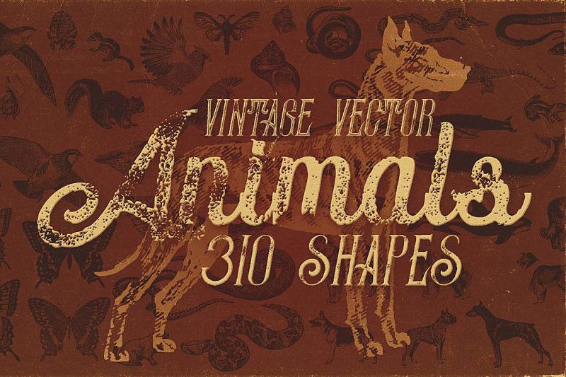 vintage-animals-vectors