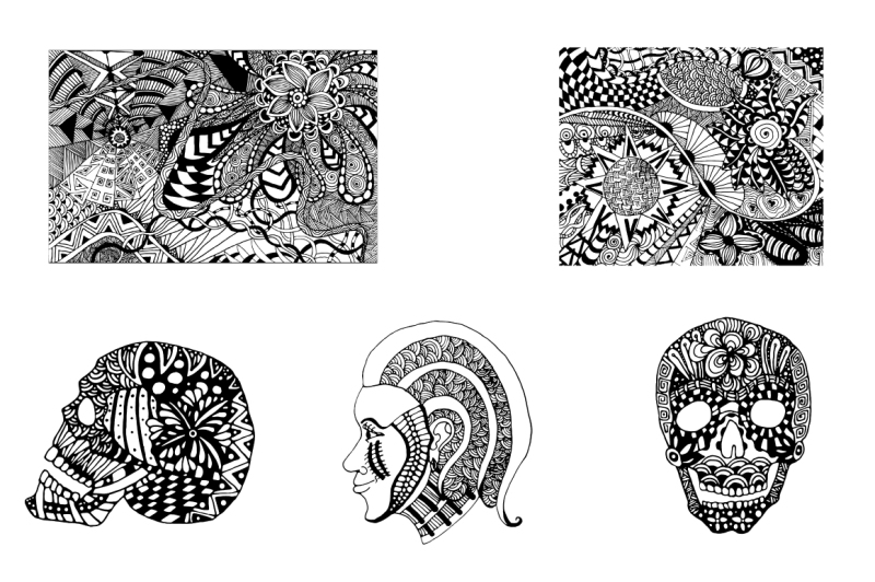antistress-art-coloring-pages