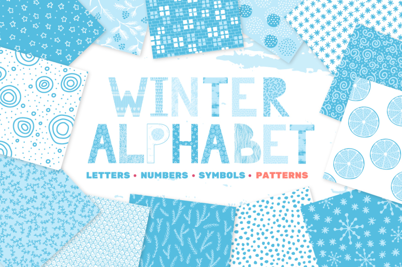 wniter-alphabet-and-patterns