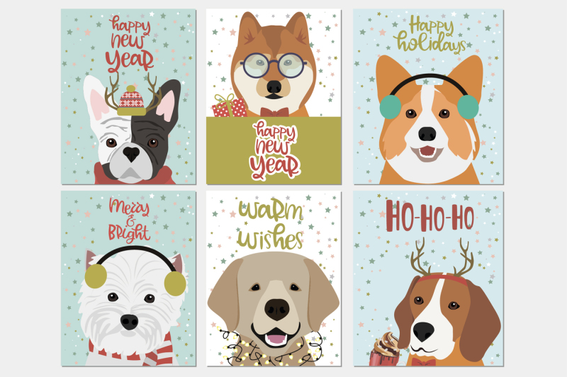 cute-christmas-dogs