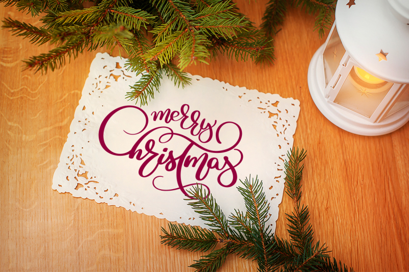merry-christmas-quotes-and-objects-calligraphy-collection