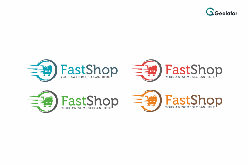 fast-shop-logo-template