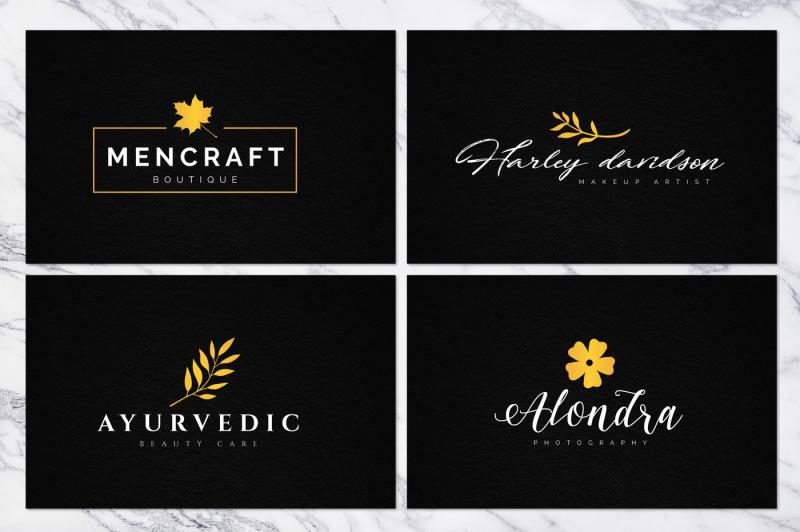 70-elegant-floral-logo-bundle