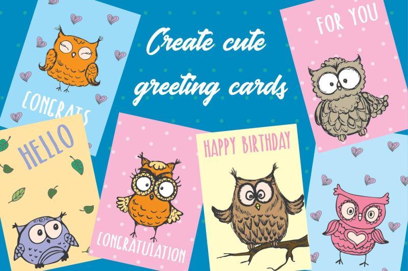 cute-hand-drawn-owls