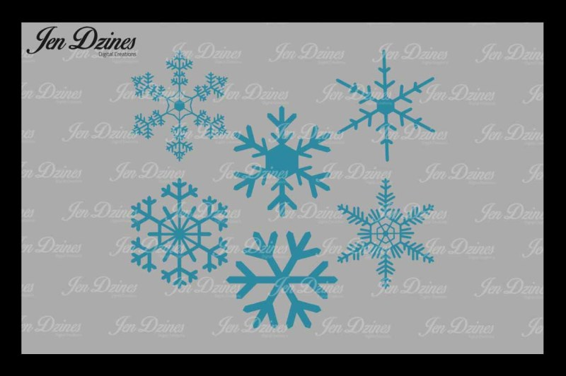 snowflakes-svg-dxf-eps-png