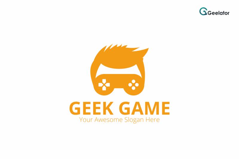 geek-game-logo-template