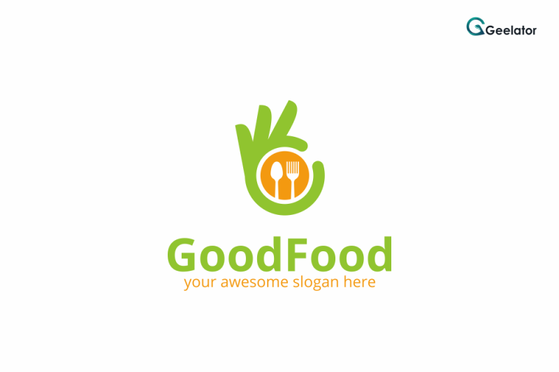 good-food-logo-template