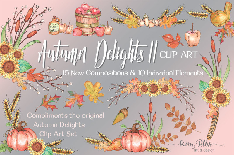 autumn-delights-ii-clip-art-collection