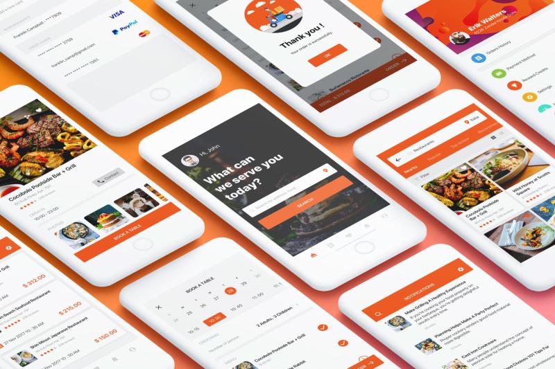 food-mobile-app-ui-kit