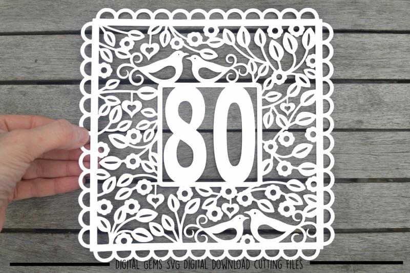 number-80-svg-dxf-eps-files