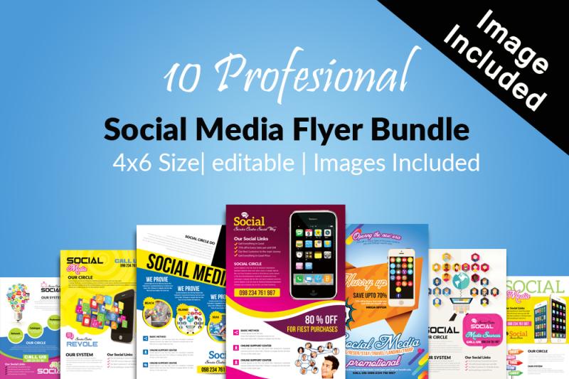 10-social-media-flyer-template-bundle