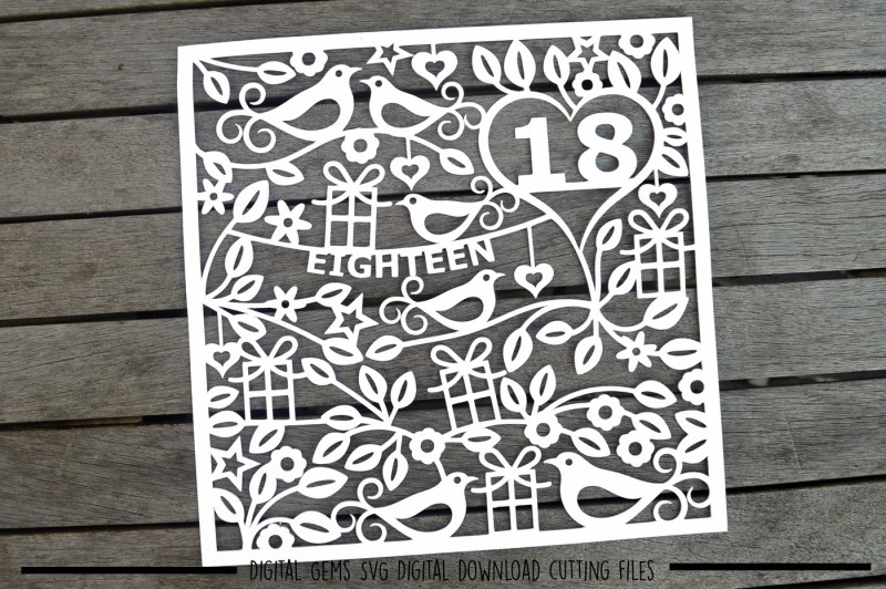 number-18-svg-dxf-eps-files