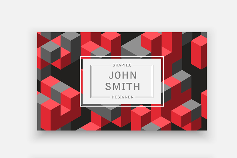 3d-shape-template-for-business-cards